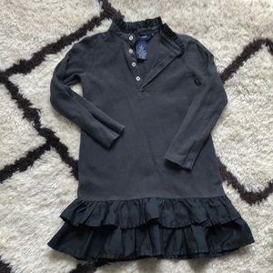 Girls long sleeve Polo dress